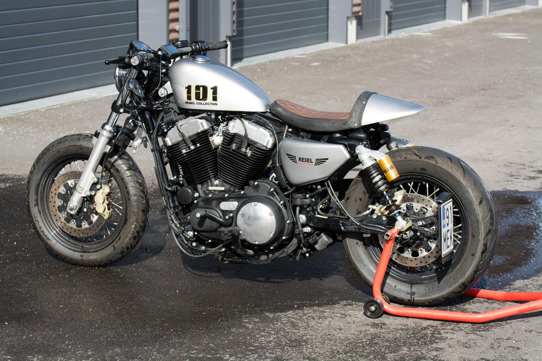Harley Davidson Forty Eight Cafe Racer Rebel Custom Works