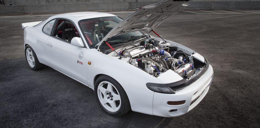 "Toyota ""rebel"" celica ST185 racing car exterior"